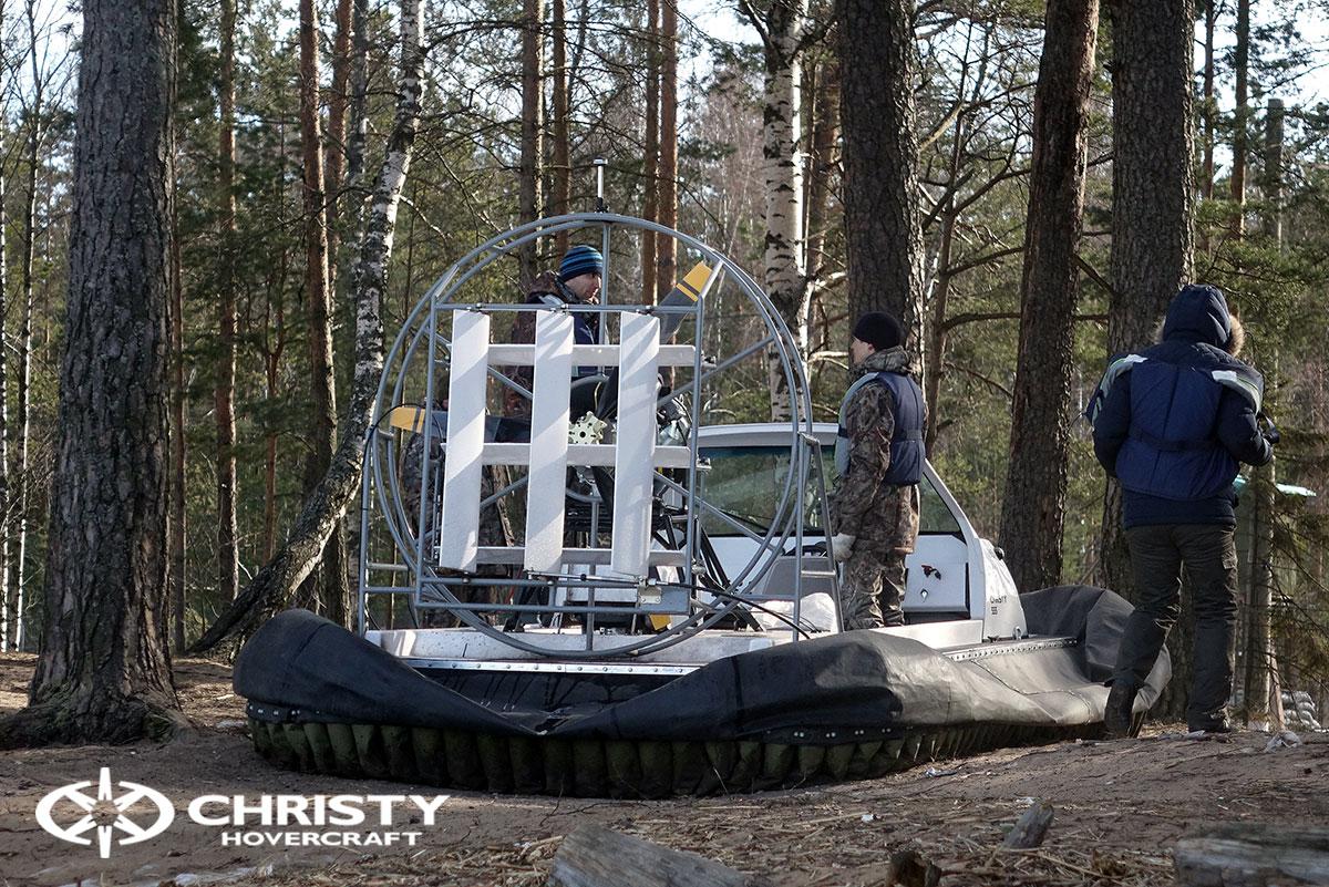 Christy 458 с открытой кабиной