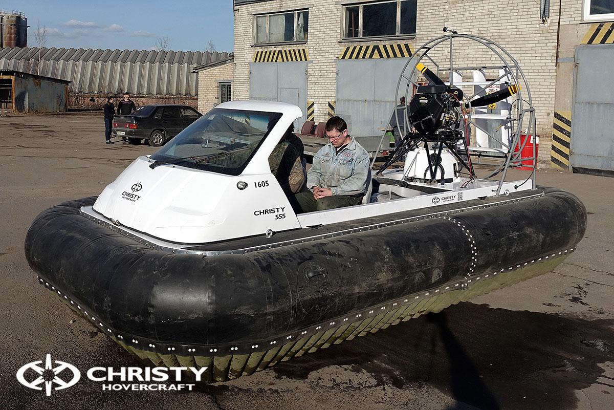 Тест-драйв Christy 458 с открытой кабиной | фото №40