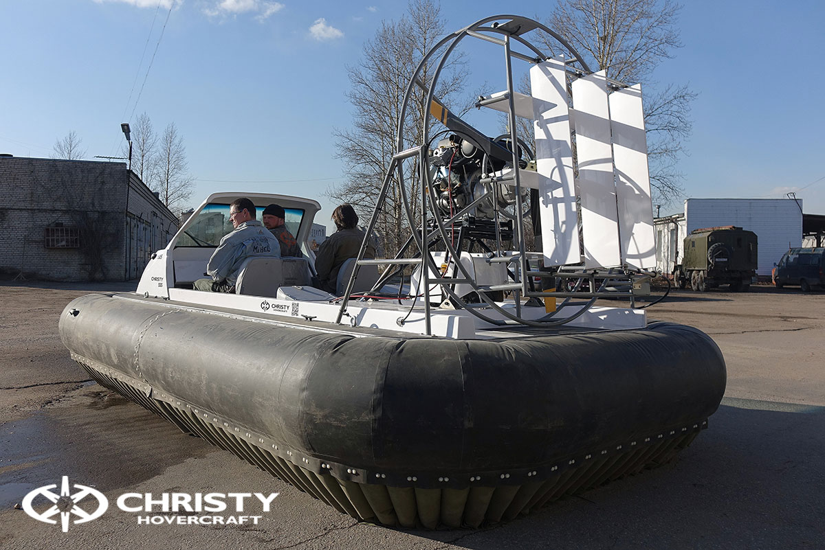Тест-драйв Christy 458 с открытой кабиной | фото №41