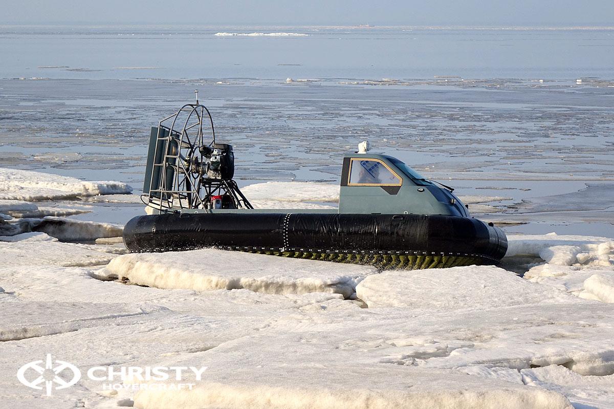 Тест-драйв Christy 458 на льду | фото №1