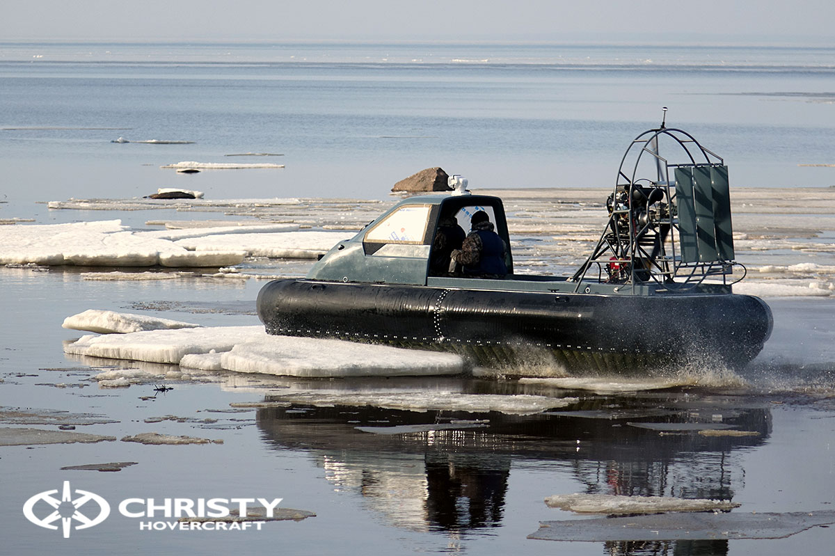 Тест-драйв Christy 458 на льду | фото №10
