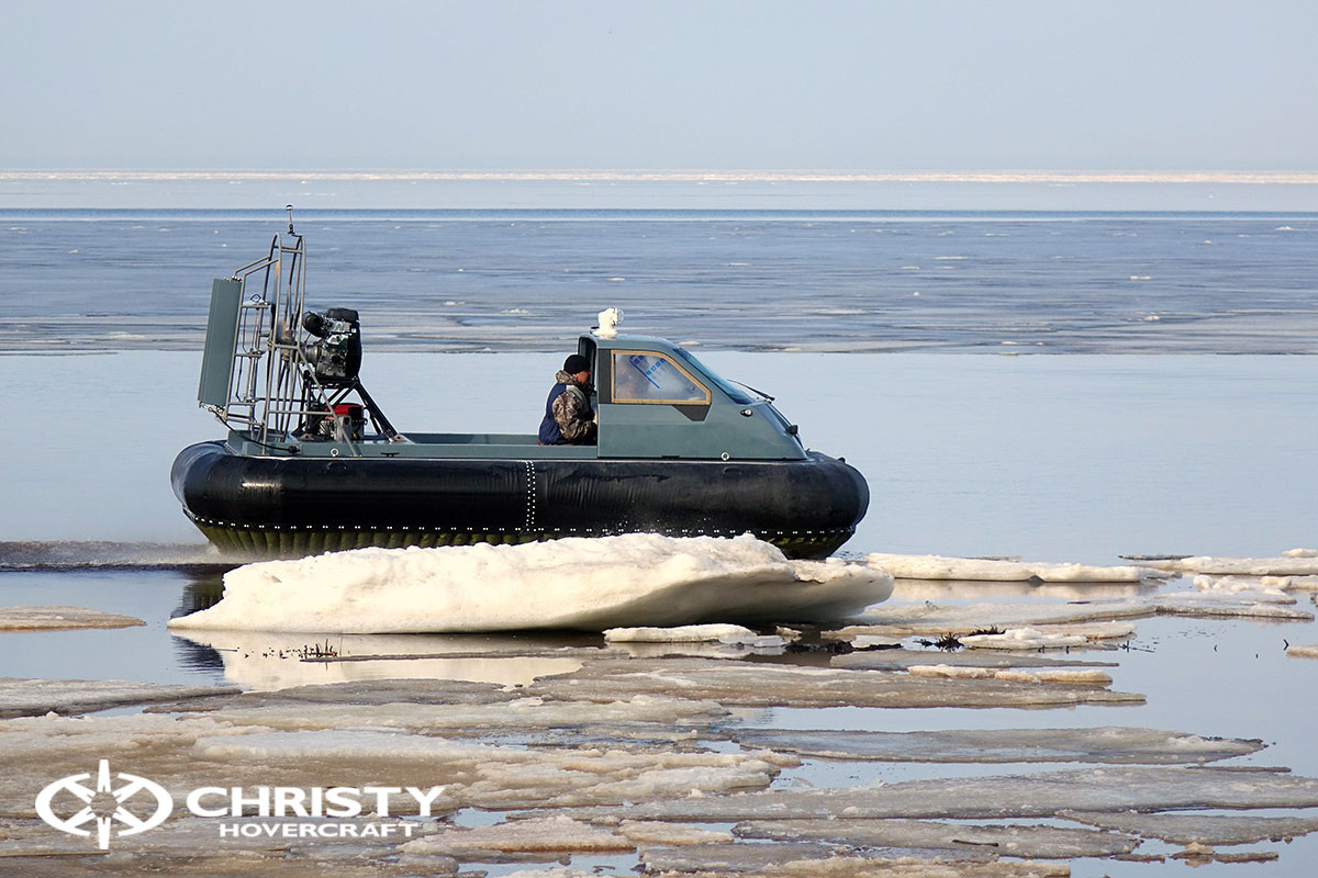 Тест-драйв Christy 458 на льду | фото №11