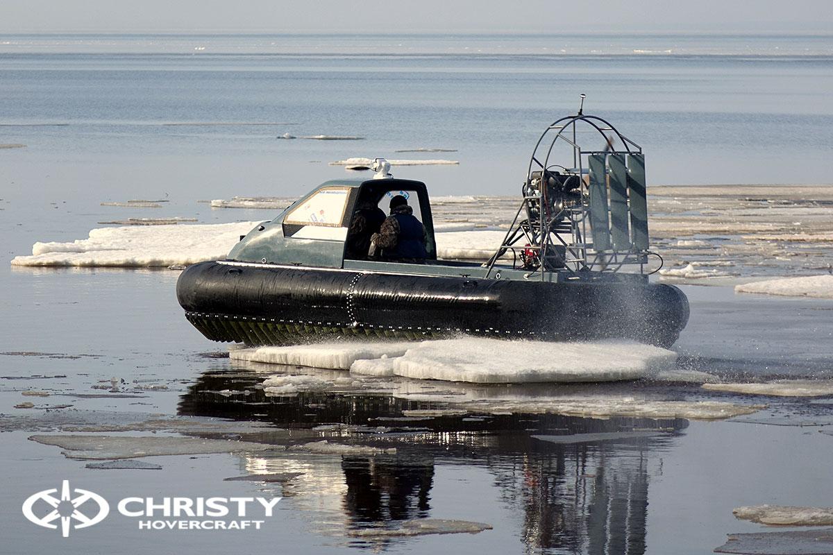 Тест-драйв Christy 458 на льду | фото №12