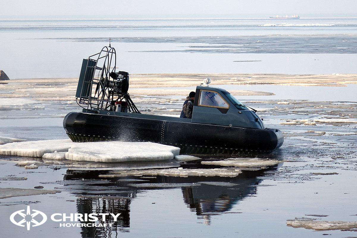 Тест-драйв Christy 458 на льду | фото №15