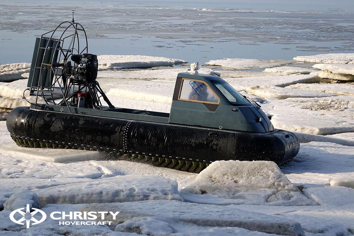 Тест-драйв Christy 458 на льду | фото №17