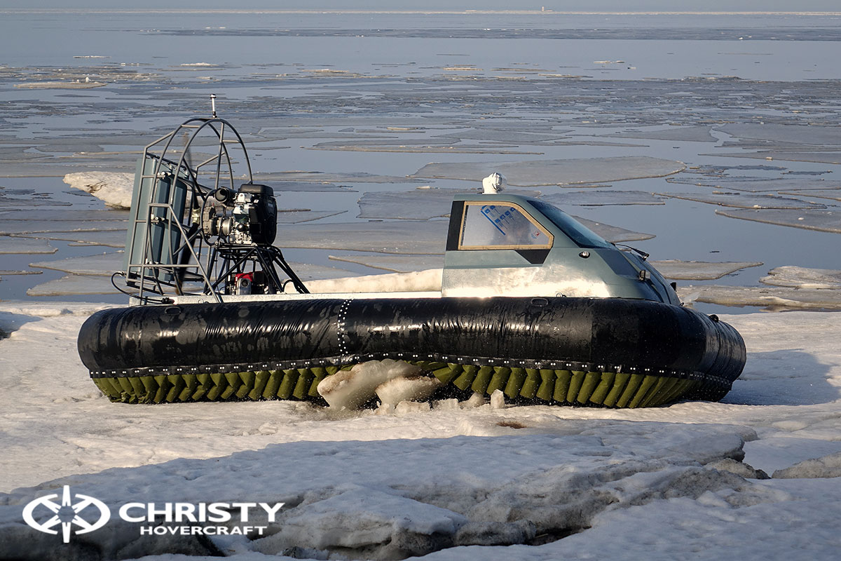 Тест-драйв Christy 458 на льду | фото №18