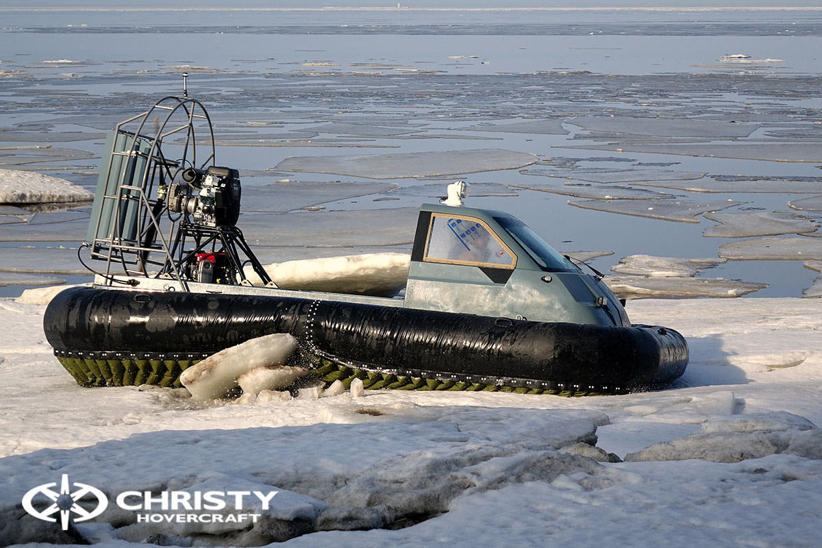 Тест-драйв Christy 458 на льду | фото №19