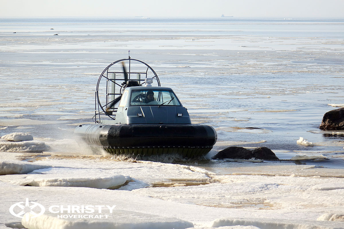Тест-драйв Christy 458 на льду | фото №2