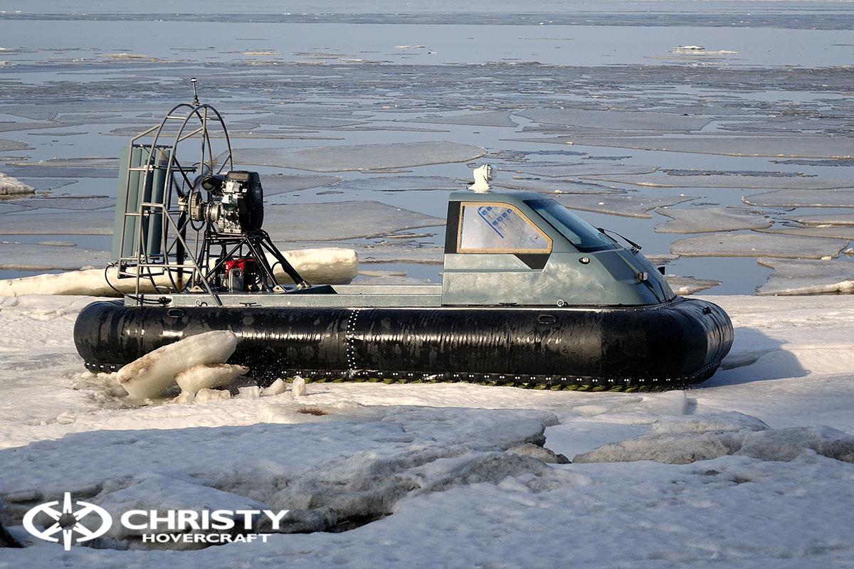 Тест-драйв Christy 458 на льду | фото №20