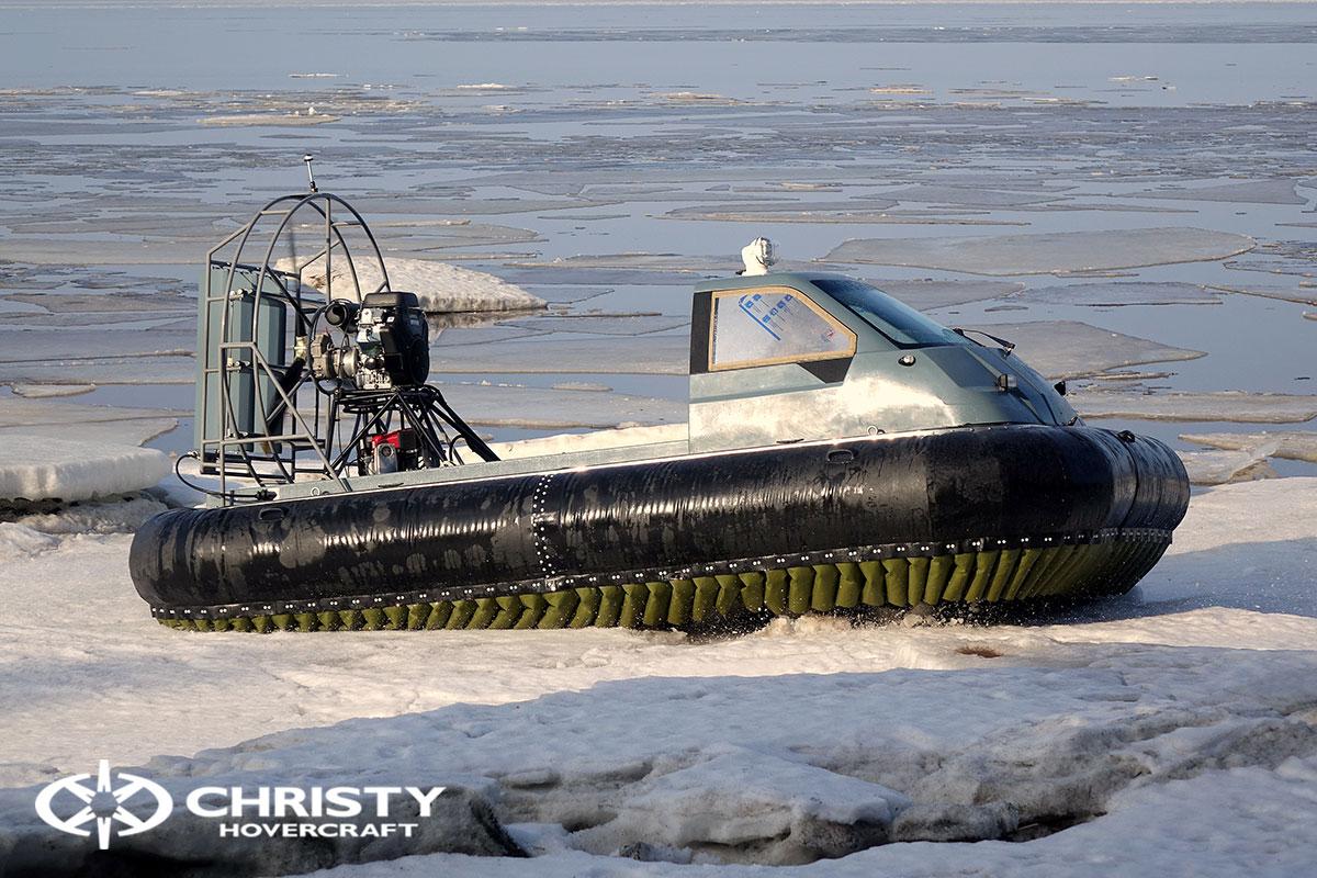 Тест-драйв Christy 458 на льду | фото №23