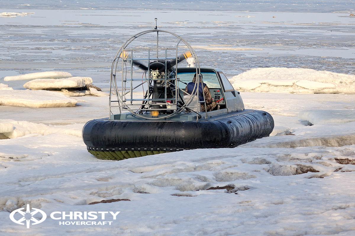 Тест-драйв Christy 458 на льду | фото №25