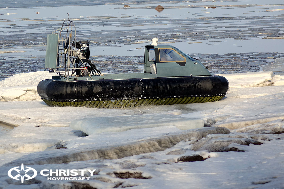 Тест-драйв Christy 458 на льду | фото №26