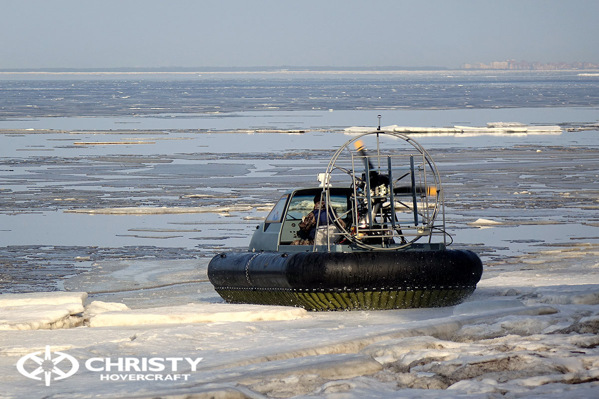 Тест-драйв Christy 458 на льду | фото №27
