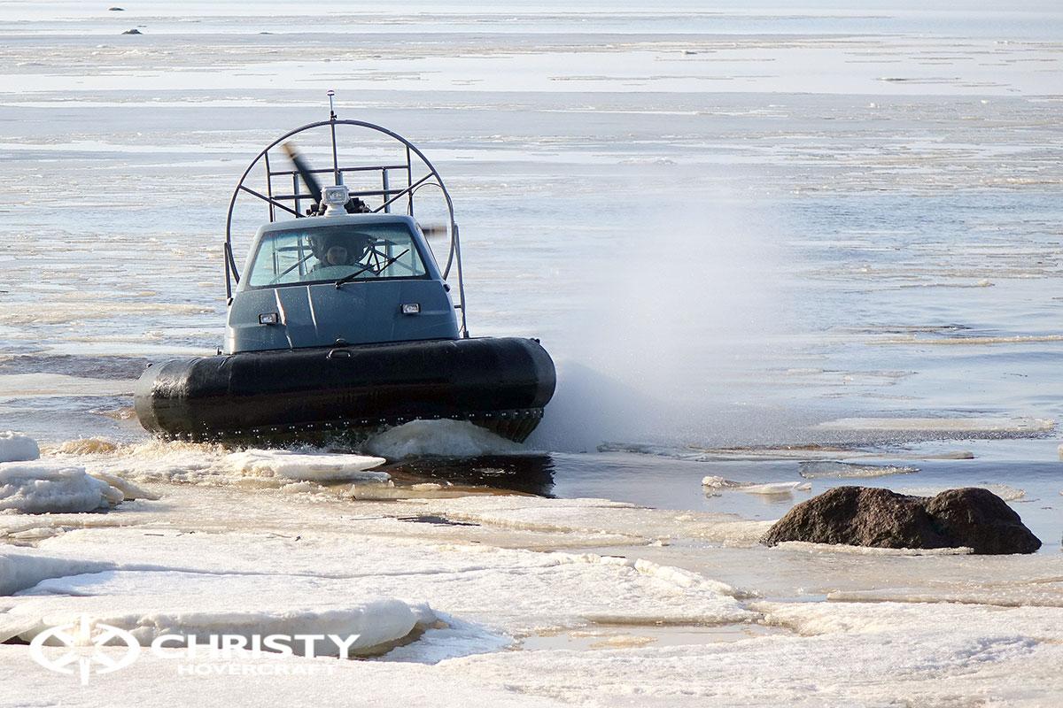 Тест-драйв Christy 458 на льду | фото №28