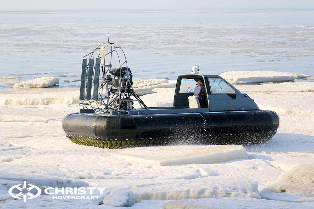 Тест-драйв Christy 458 на льду | фото №29