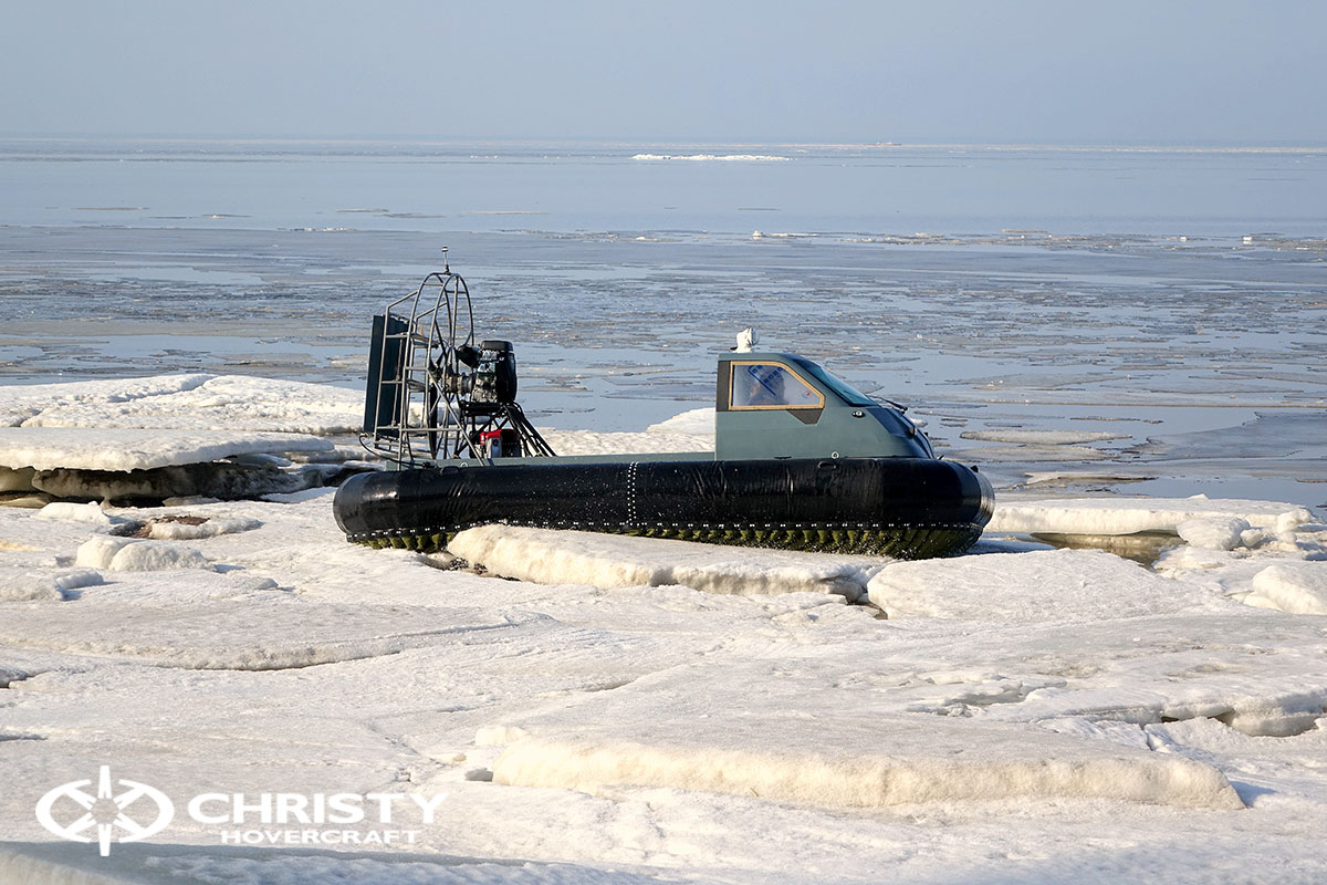 Тест-драйв Christy 458 на льду | фото №32