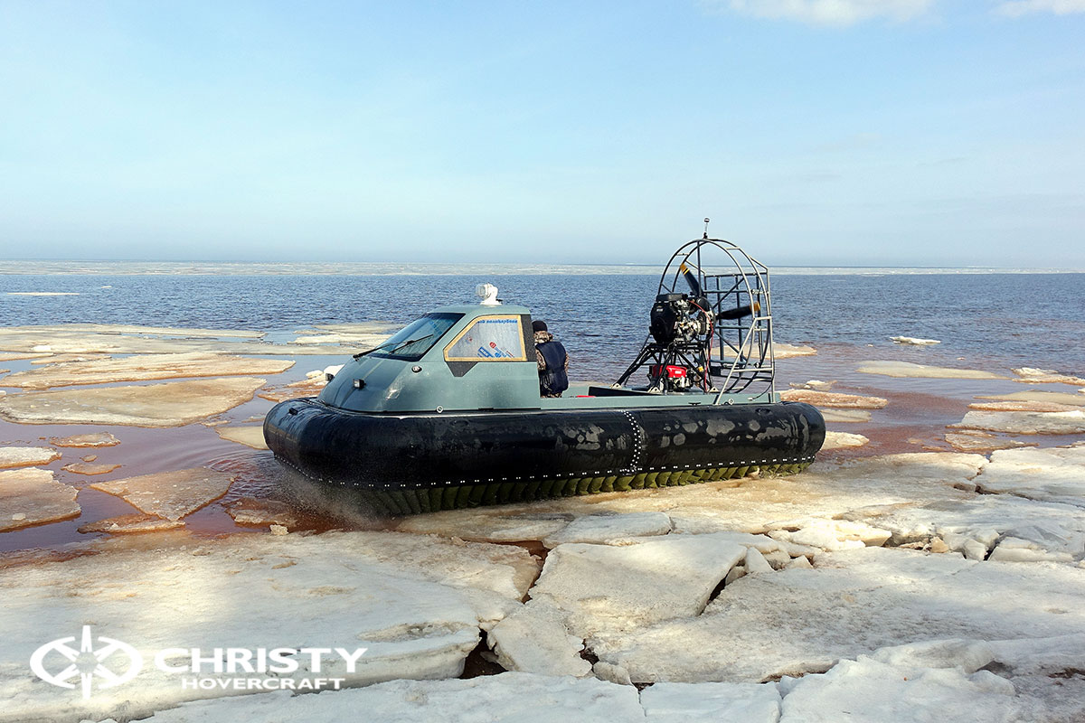 Тест-драйв Christy 458 на льду | фото №33