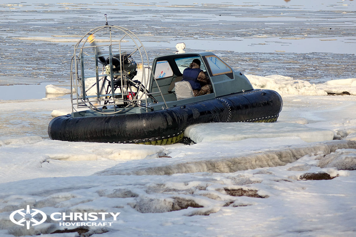 Тест-драйв Christy 458 на льду | фото №4