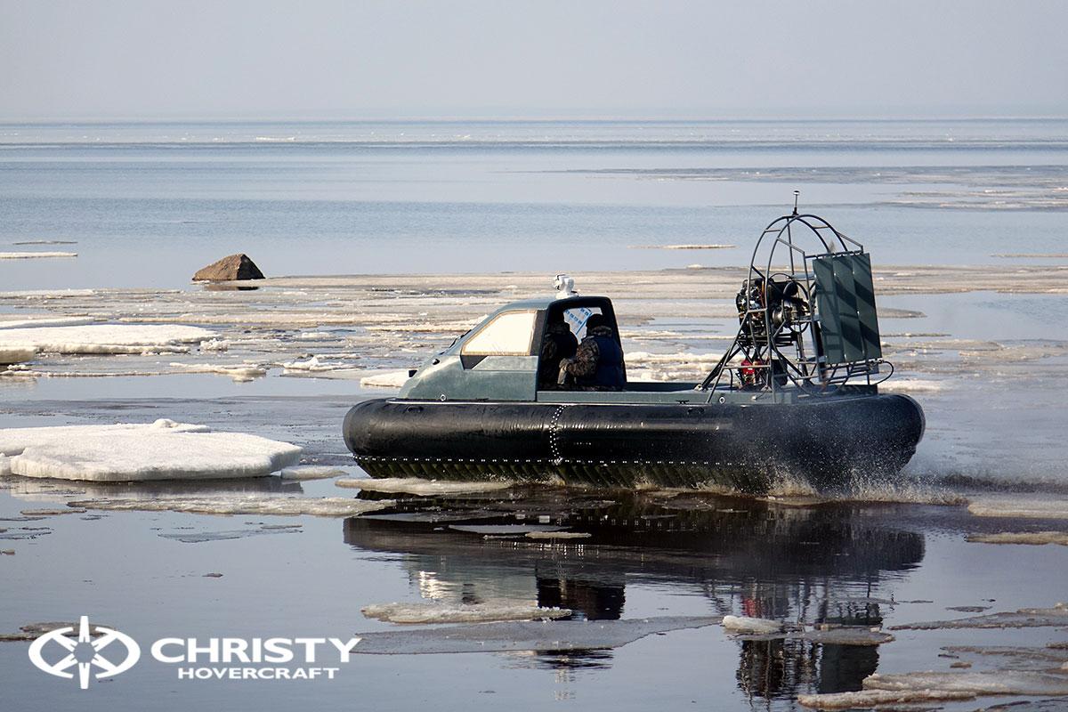 Тест-драйв Christy 458 на льду | фото №6