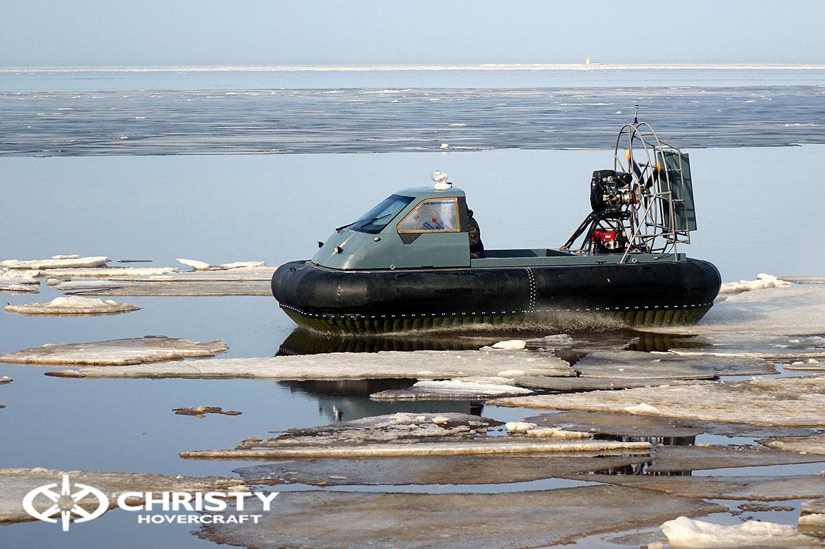 Тест-драйв Christy 458 на льду | фото №8