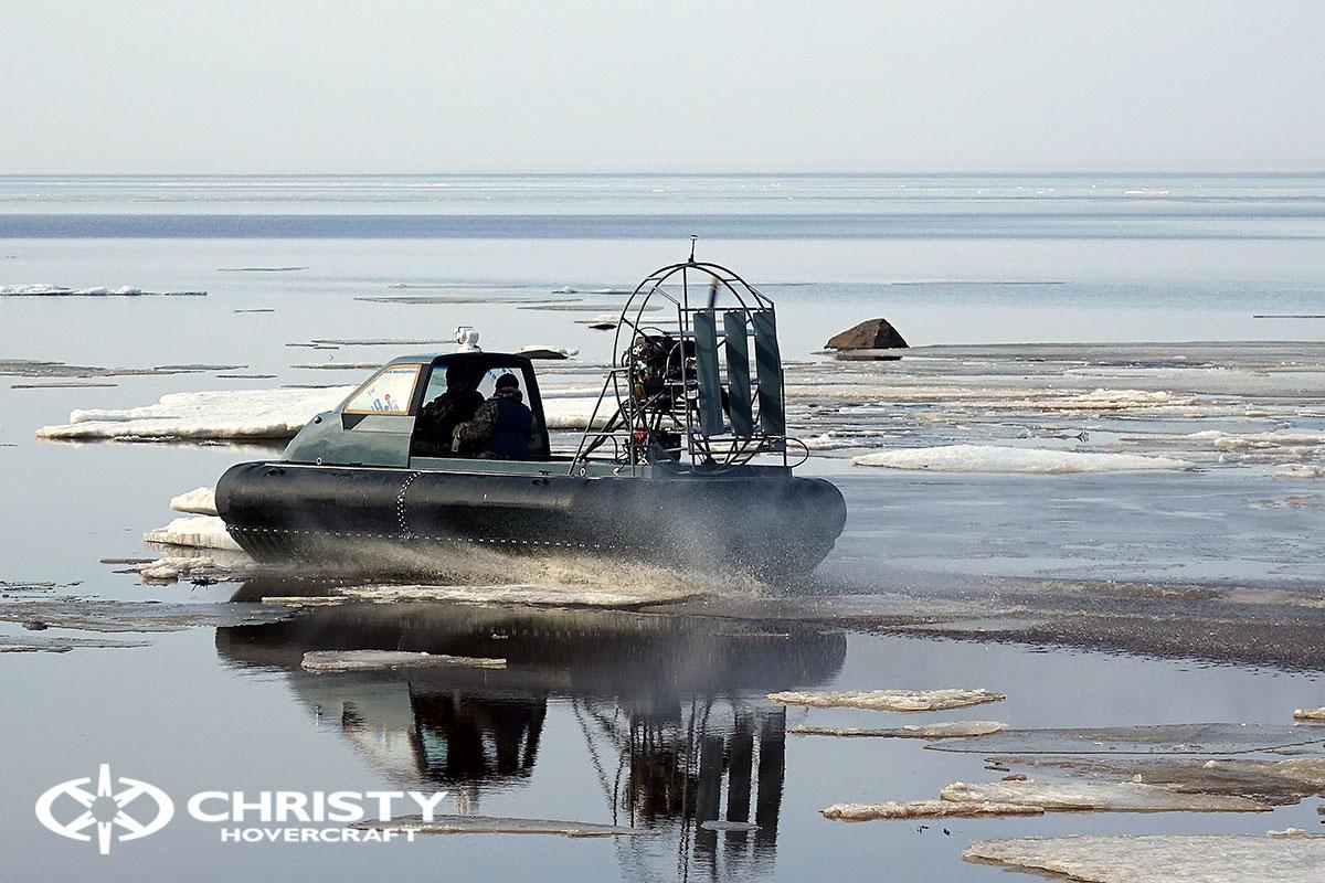 Тест-драйв Christy 458 на льду | фото №9