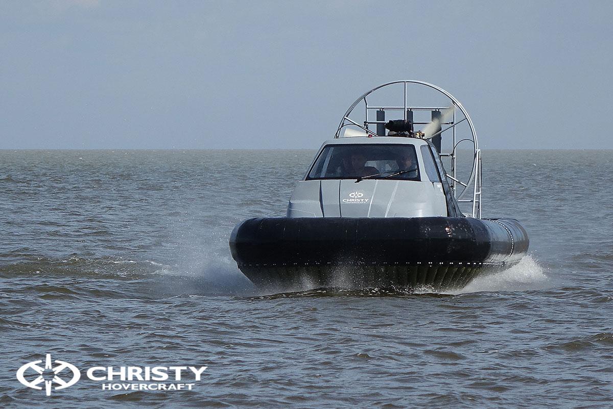 Тест-драйв судна Christy 555 с тентом | фото №5
