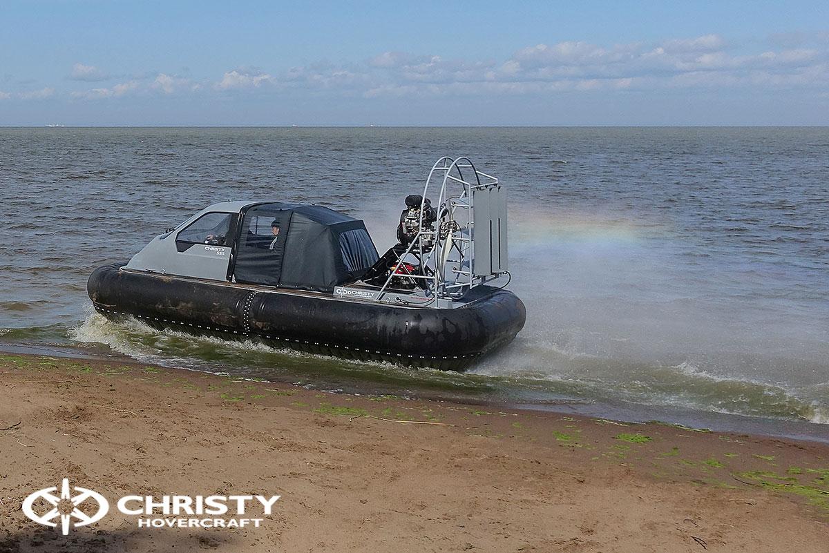 Тест-драйв судна Christy 555 с тентом | фото №20