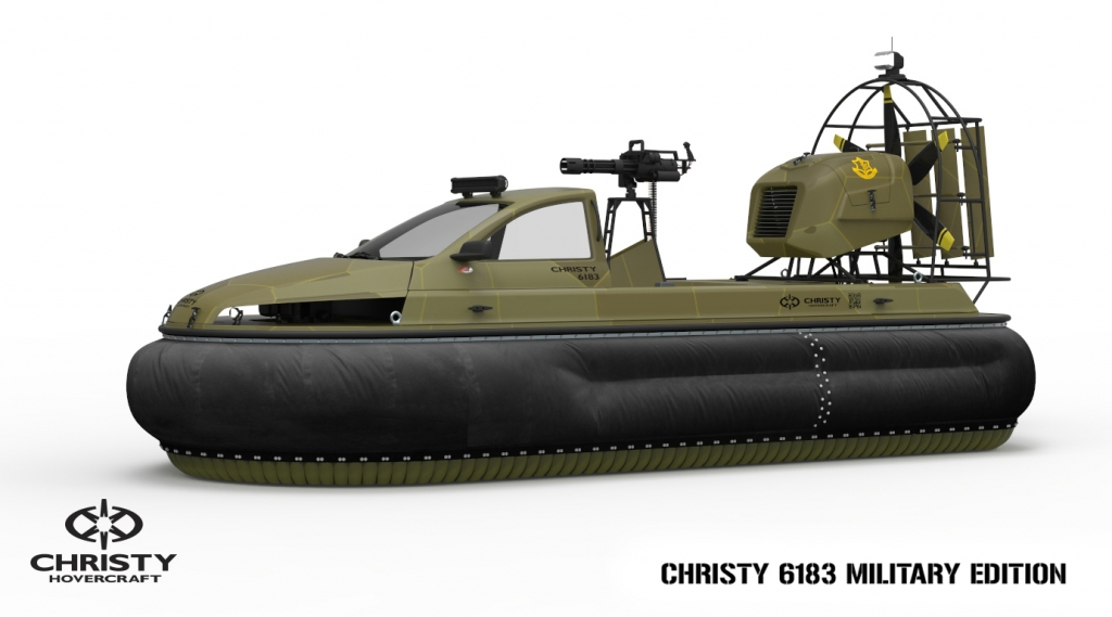 Hovercraft Christy 6183 military 3