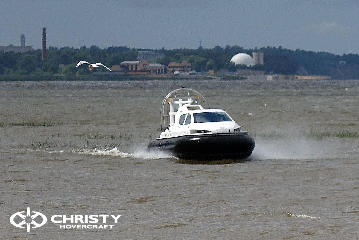 испытание судна на воздушной подушке Christy 6199 | фото №11