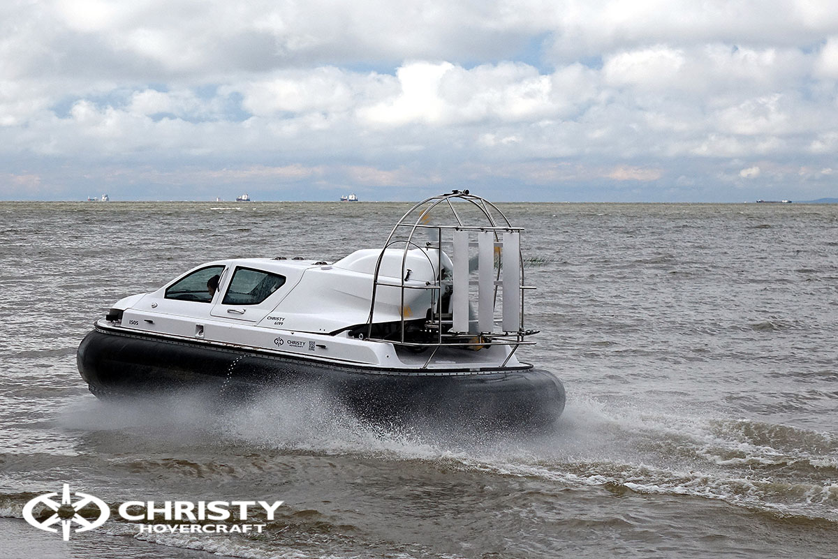 Тест-драйв судна на воздушной подушке Christy 6199 | фото №22