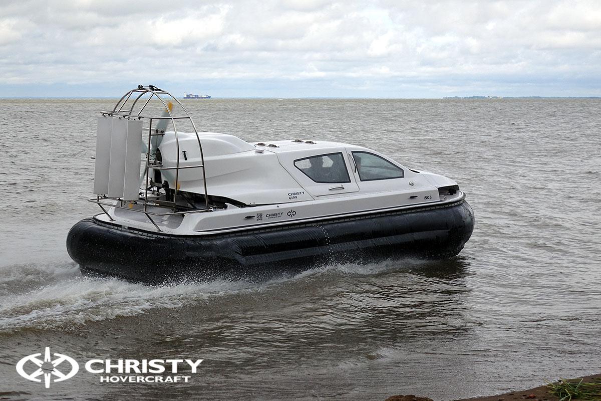 Тест-драйв катера на воздушной подушке Christy 6199 | фото №23