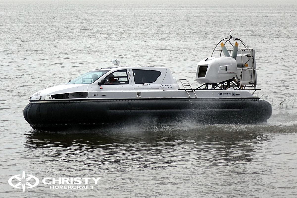 судно на воздушной подушке Christy 8199L. Испытания. Тест-драйв | фото №3