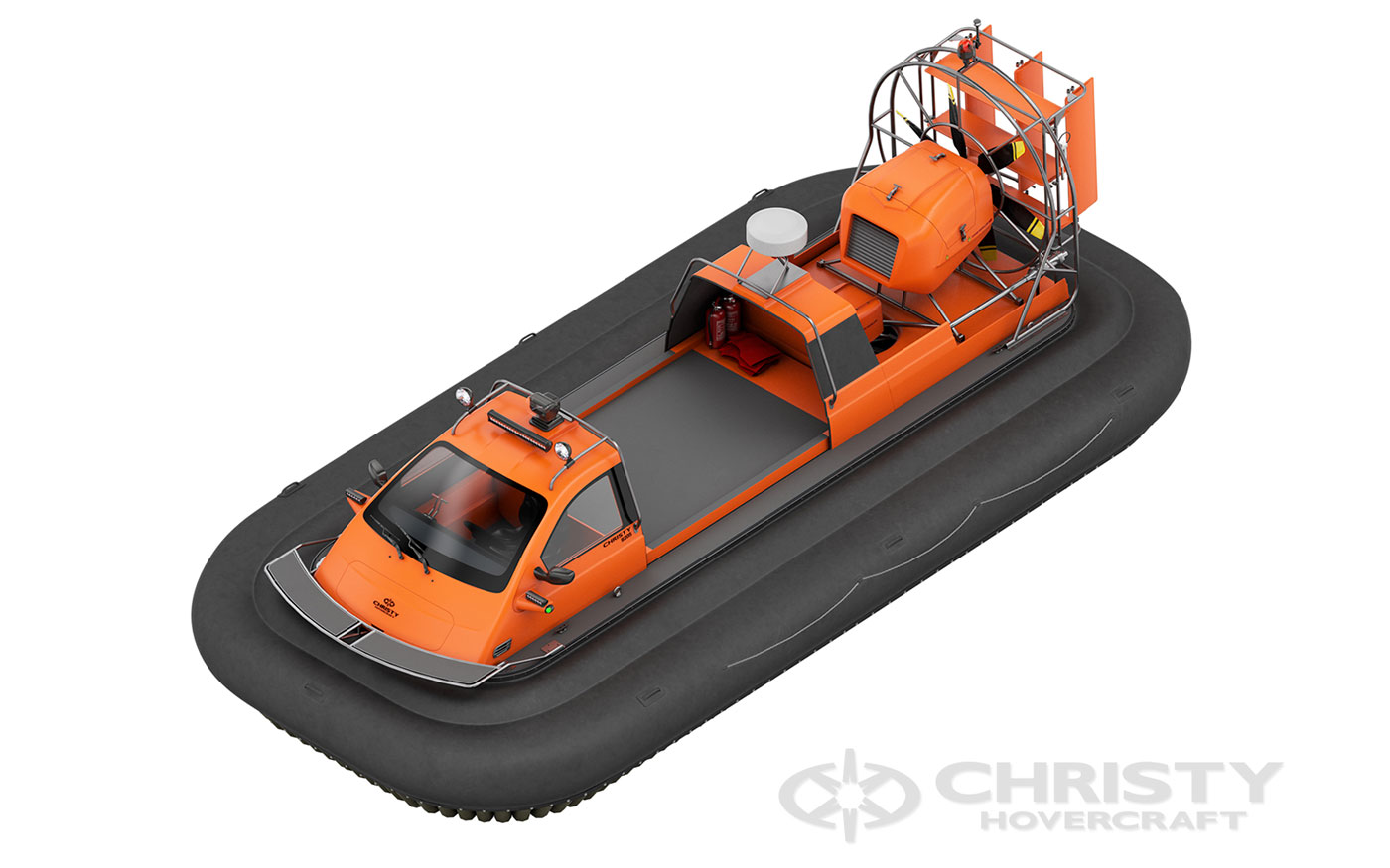 Hovercraft Christy 7186 PC Cargo