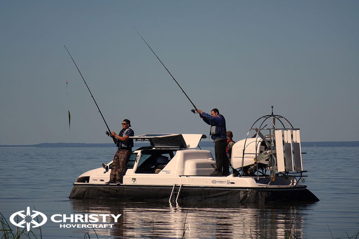 Christy 8199L версия катера для рыбалки и охоты | фото №38
