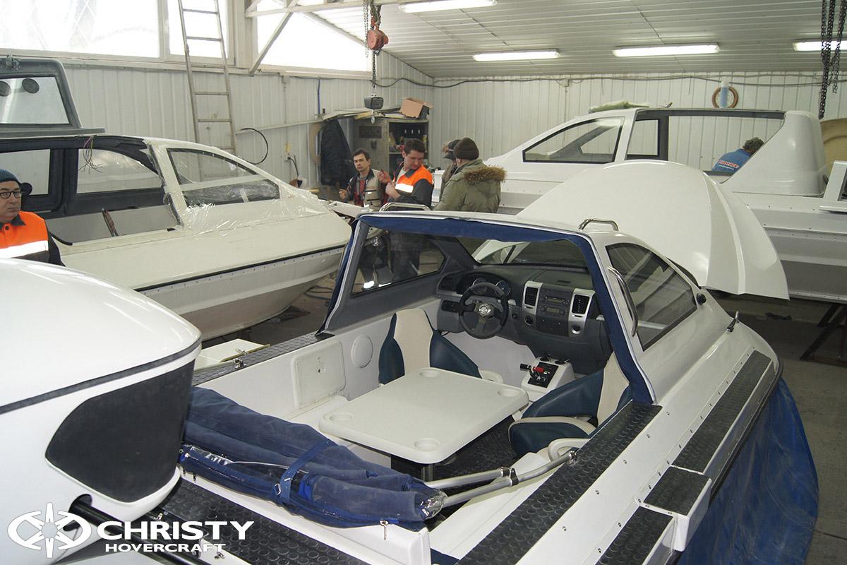 6-ти местный катер на воздушной подушке Christy 6183 Cabriolet
