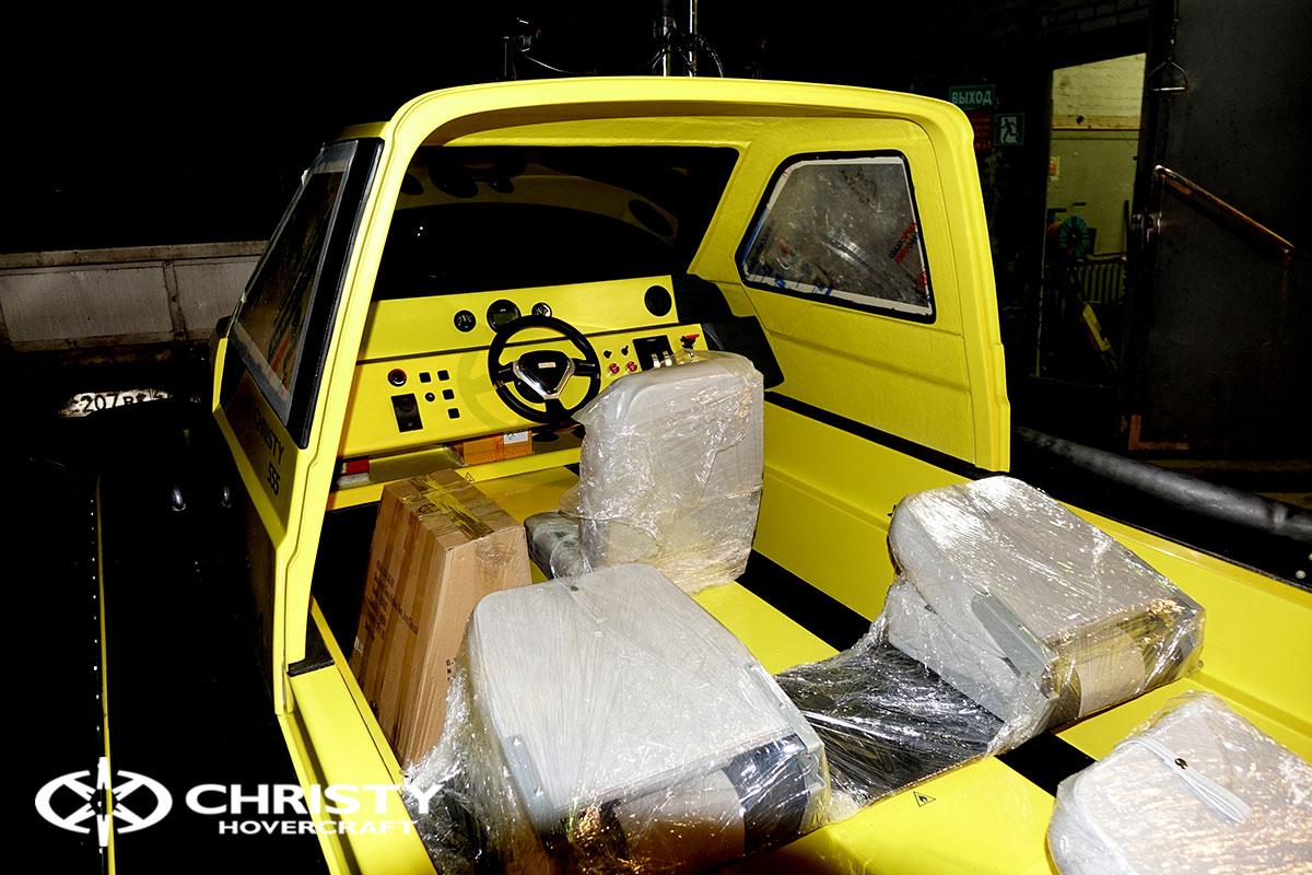 Экспортная поставка в Финляндию Christy 555