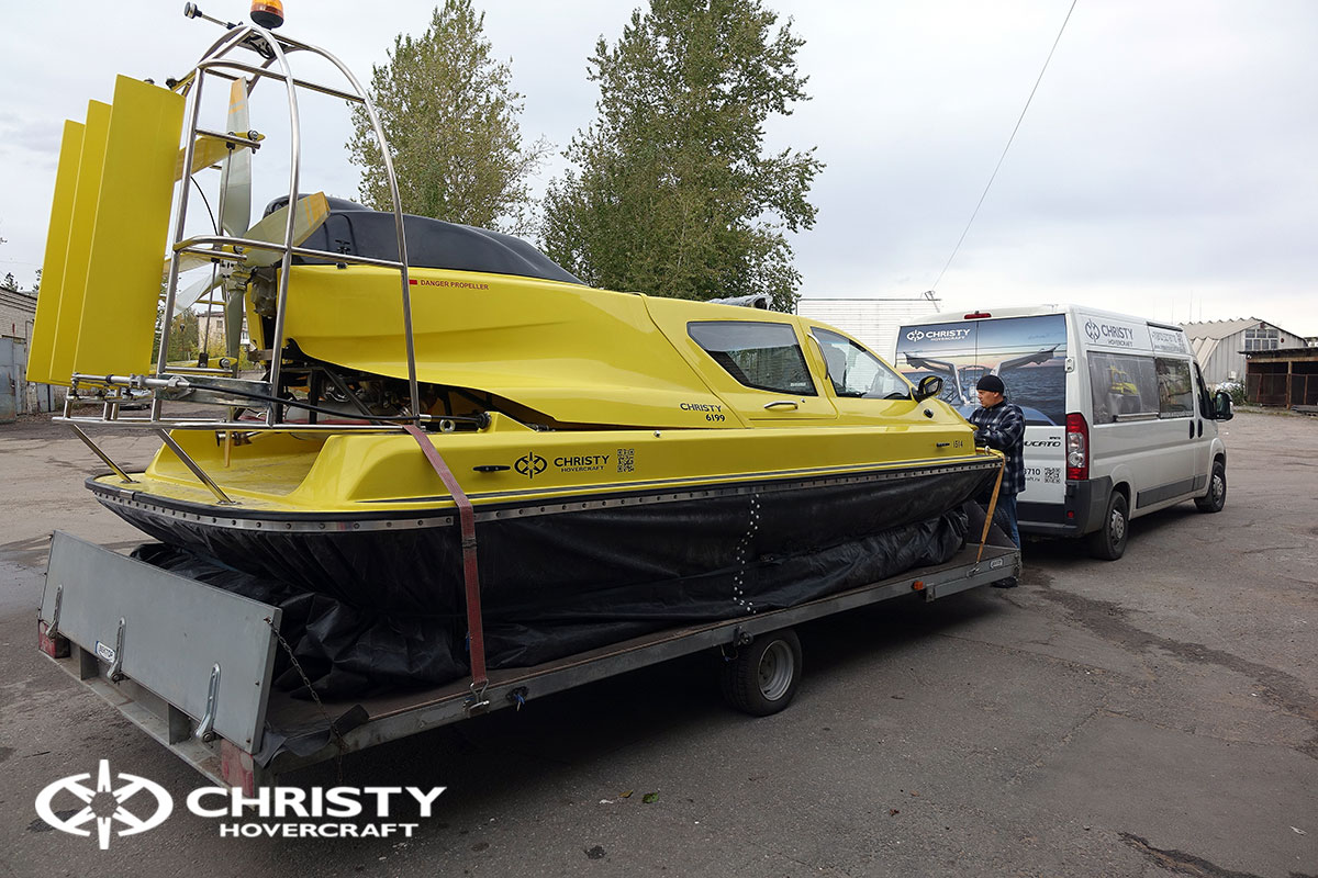 Hovercraft Christy6199MK2 погрузка | фото №7