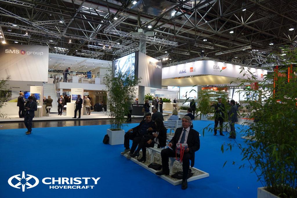10-я международная выставка и конгресс алюминиевой промышленности в Дюссельдорфе.