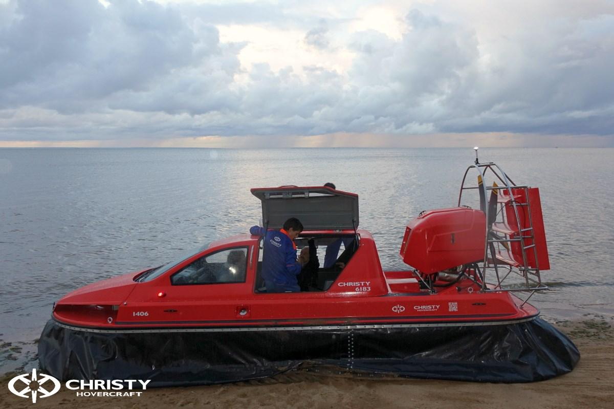 Катер на воздушной подушке Christy 6183 DeLuxe RESCUE Спасательный