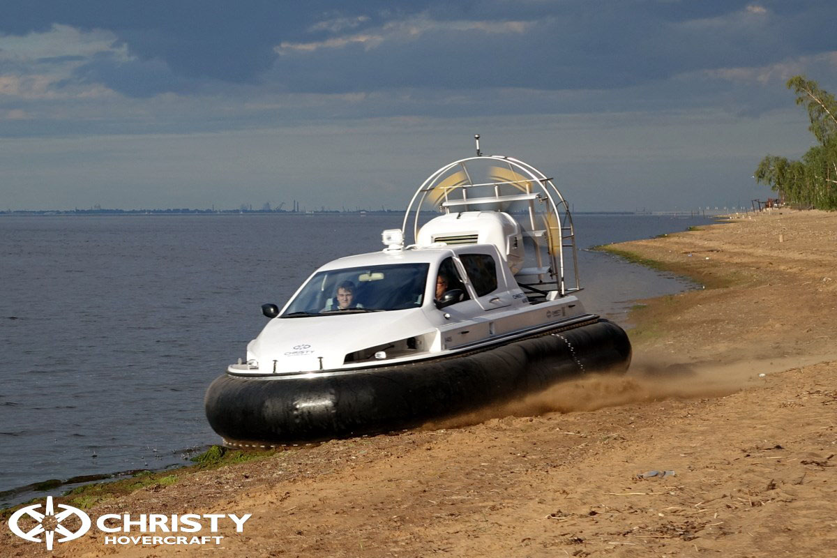 Обновленный катер на воздушной подушке Christy 6183 - Лучшие фото | фото №34