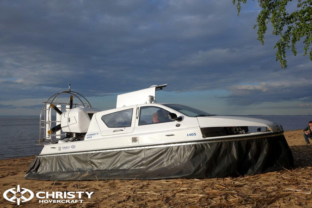 Обновленный катер на воздушной подушке Christy 6183 - Лучшие фото | фото №9