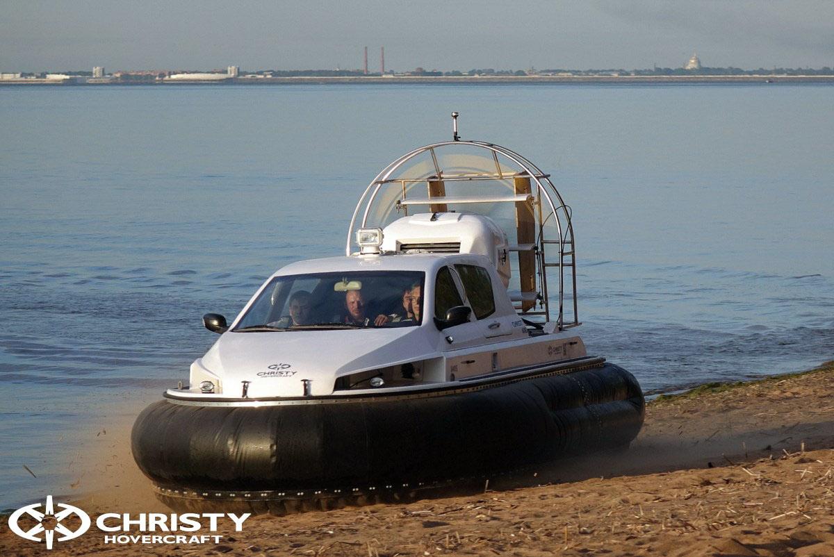 Обновленный катер на воздушной подушке Christy 6183 - Лучшие фото | фото №38