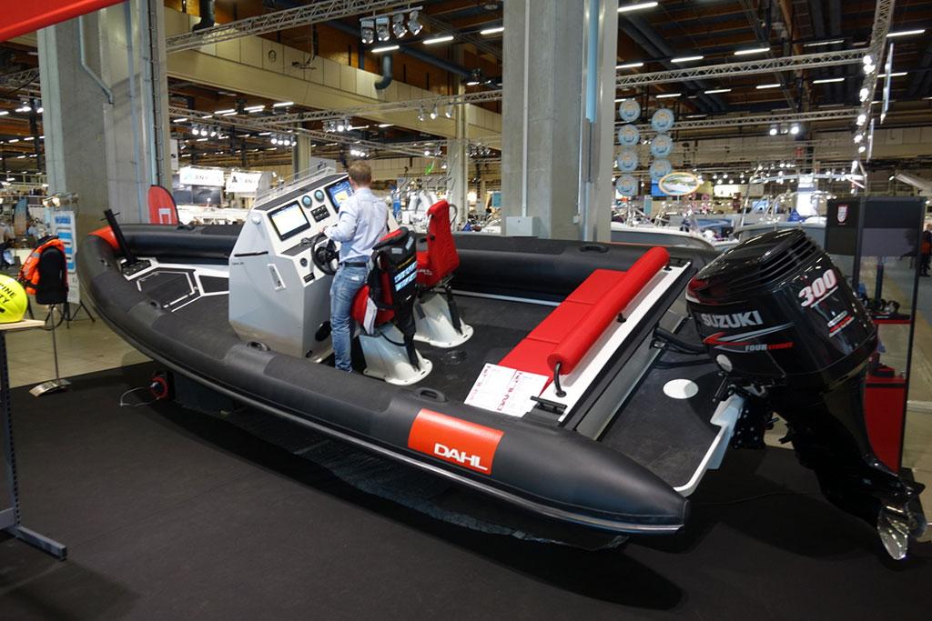 HELSINKI INTERNATIONAL BOAT SHOW - Надувная лодка Dahl | фото №11