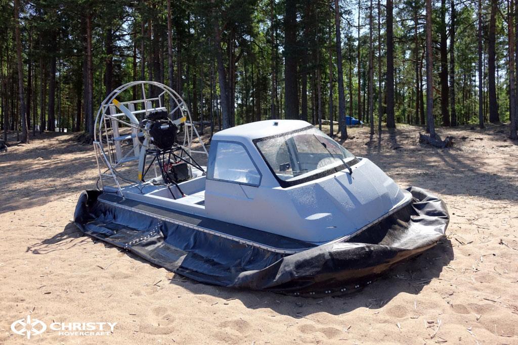 Испытания судна-амфибии на воздушной подушке Christy 555 | фото №13