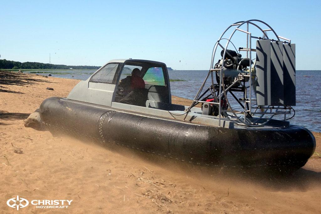 Тест-драйв судна на воздушной подушке Christy 555 | фото №22