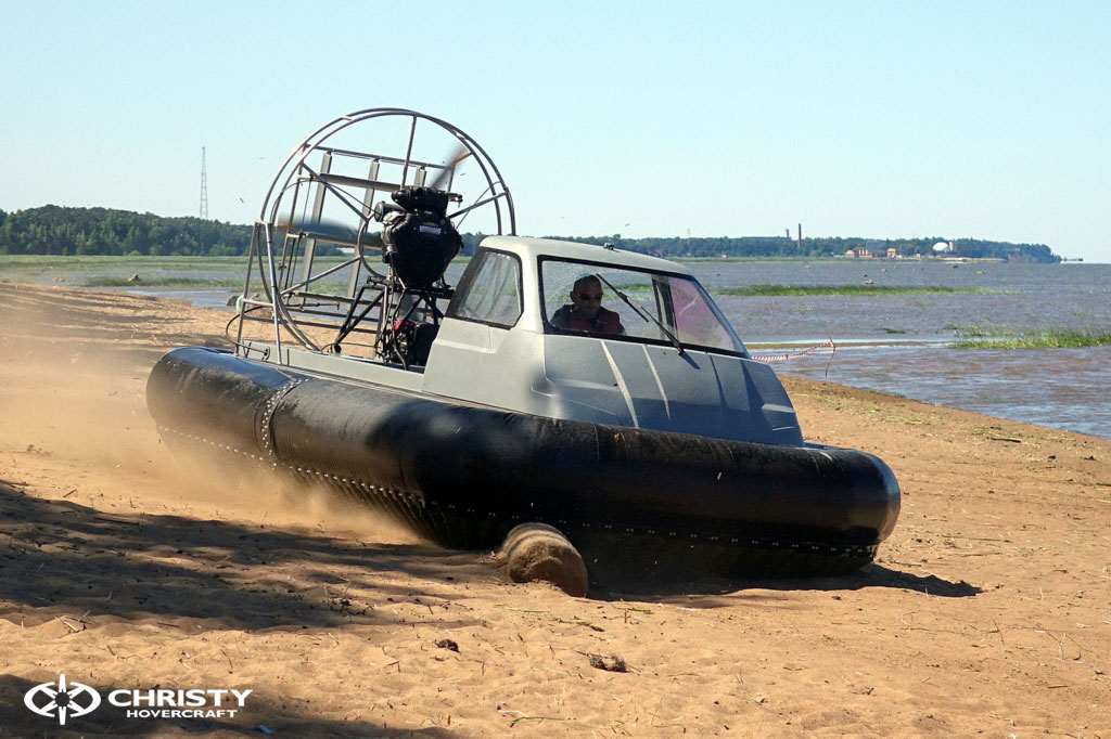 Тест-драйв катера на воздушной подушке Christy 555 | фото №26
