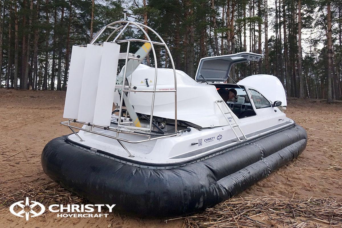 Обучение вождению и сдача катера Christy 6199