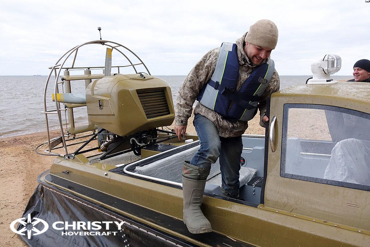 Технические испытания лодки свп Christy 6183 Кабриолет | фото №12