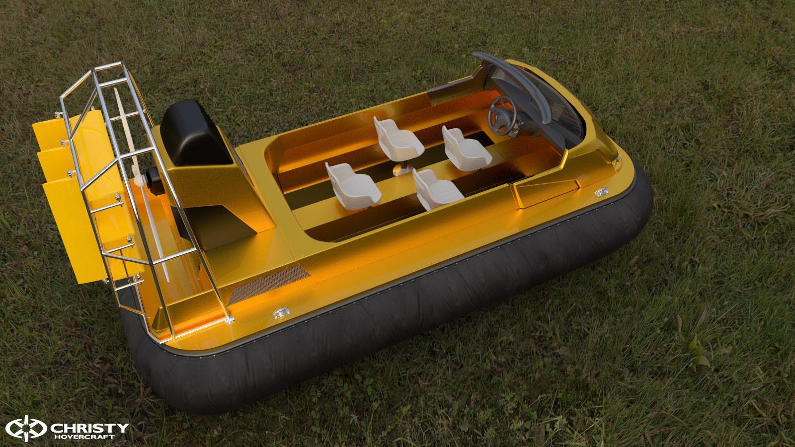 Как сделать для лодки воздушную подушку 367