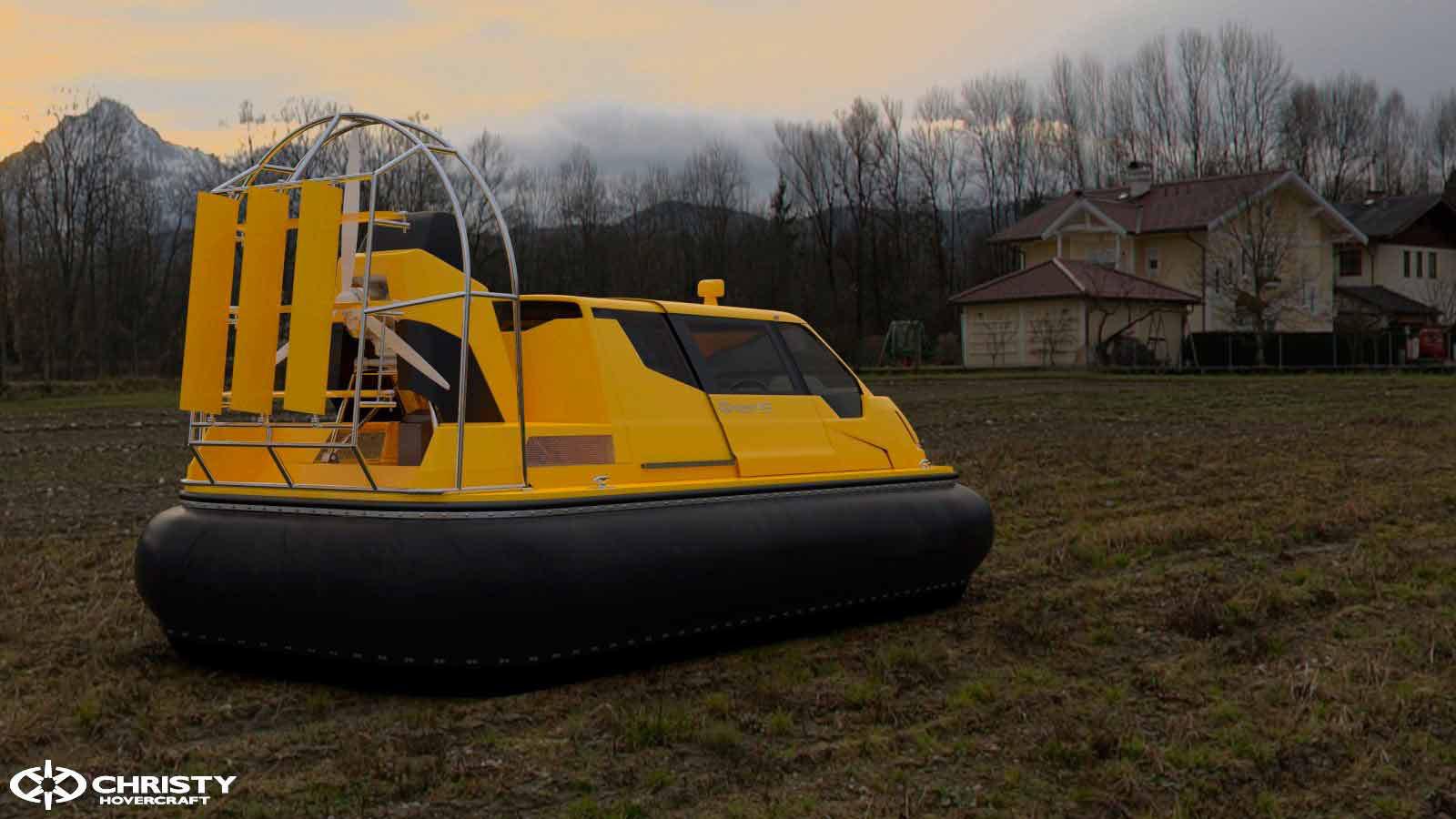 4-х местный катер на воздушной подушке Christy 453